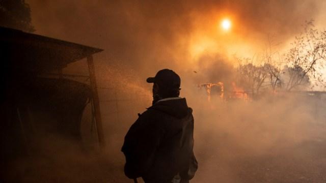 Foto: Vientos avivan incendios en California, 30 de octubre de 2019