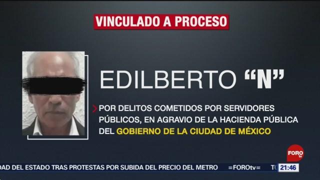 FOTO: Vinculan a proceso a exsubsecretario de Finanzas de la Ciudad de México, 19 octubre 2019