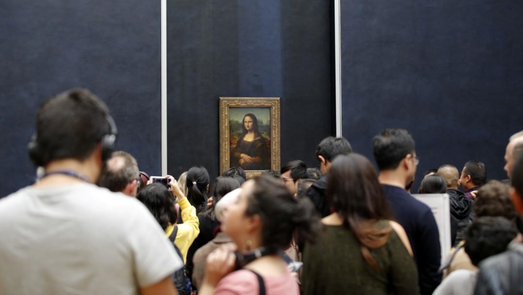 Foto: Visitantes observan La Mona Lisa, 8 de octubre de 2019, París, Francia