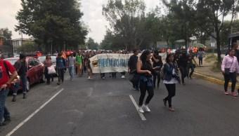 marcha estudiantes unam violencia genero