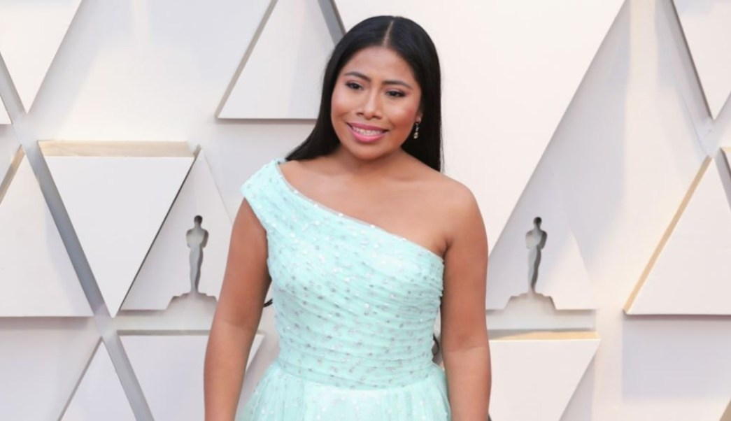 Imagen: Yalitza Aparicio durante la alfombra roja de los Premios Oscar, el 16 de octubre de 2019 (Getty Images)