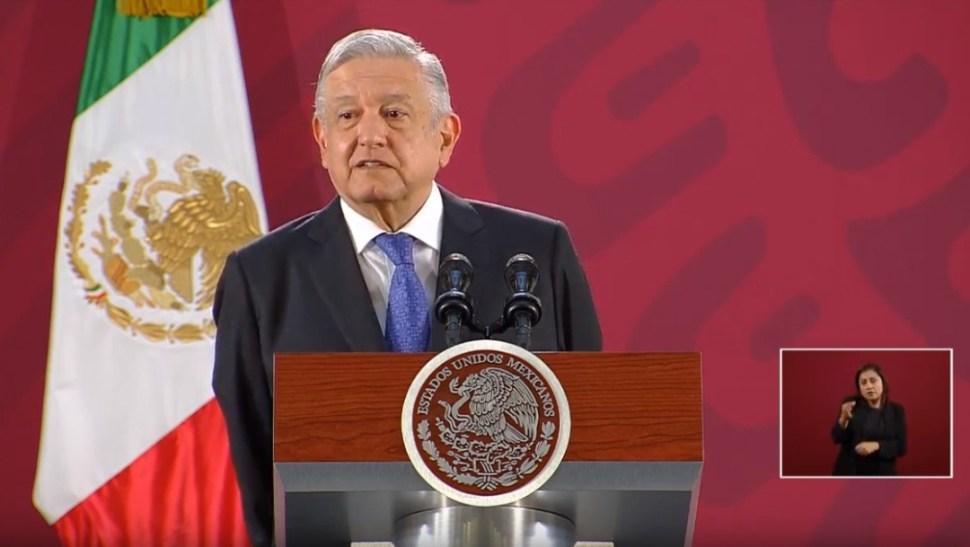 Foto: López Obrador, 6 de noviembre de 2019
