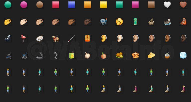 ¡WhatsApp estrena emojis en su última versión beta!