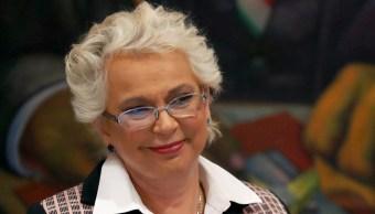 Olga Sánchez Cordero, secretaria de Gobernación. (Reuters, archivo)