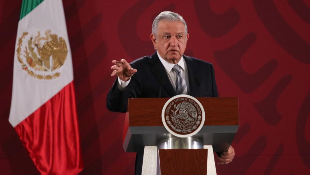 Foto: López Obrador insta al INE y autónomos a ajustarse el cinturón