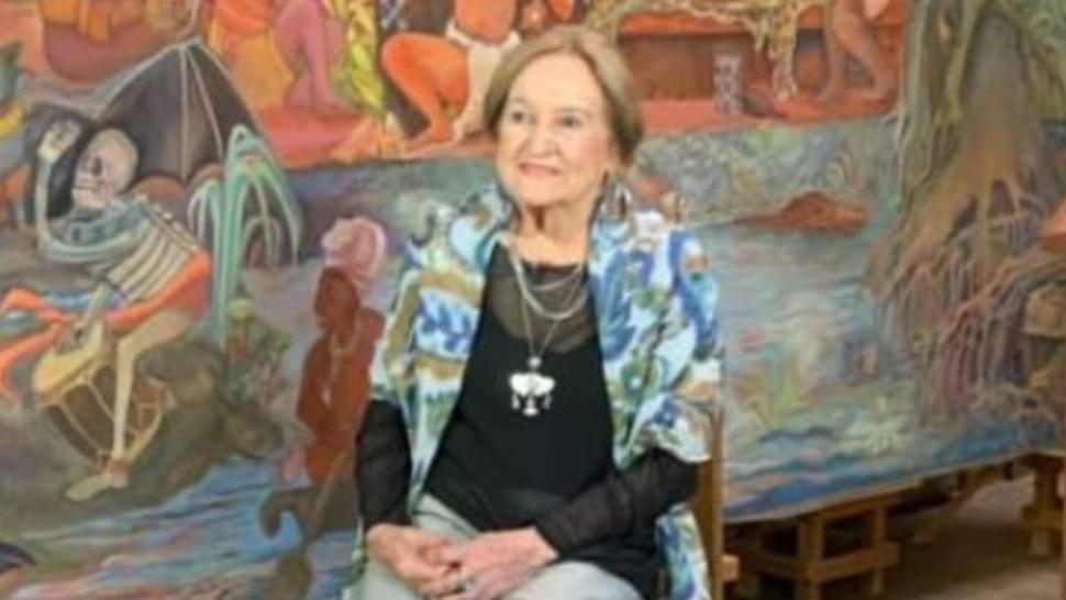 Rina Lazo Wasem, integrante del Muralismo mexicano.