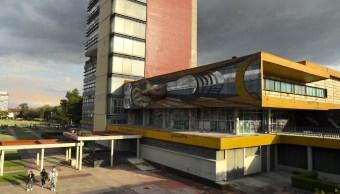 mural david alfaro siqueiros en rectoria