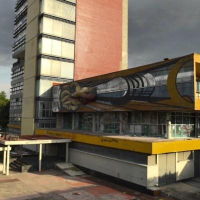 Mural de David Alfaro Siqueiros resulta dañado por vandalismo en la UNAM