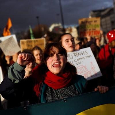 Protestan en todo el mundo contra el cambio climático