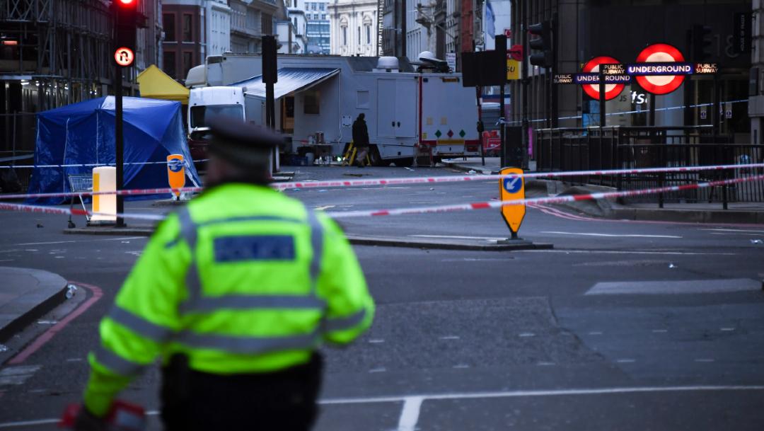 """Foto: """"El autor del ataque de ayer en Londres es un combatiente del Estado Islámico"""", indicó SITE, 30 de noviembre de 2019 (EFE)"""