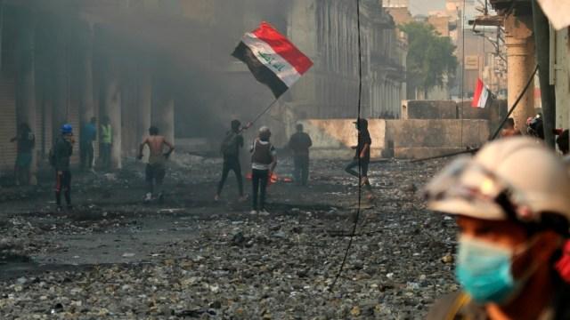 Foto: Mueren 16 manifestantes en otra jornada de violencia en Irak