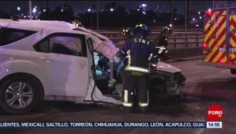 FOTO: Accidentes madrugada deja muerto Valle México