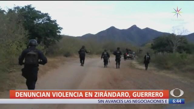 Alcalde de Zirándaro denuncia enfrentamientos de criminales desde hace una semana