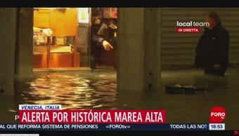 FOTO: Alerta por histórica marea alta Venencia,