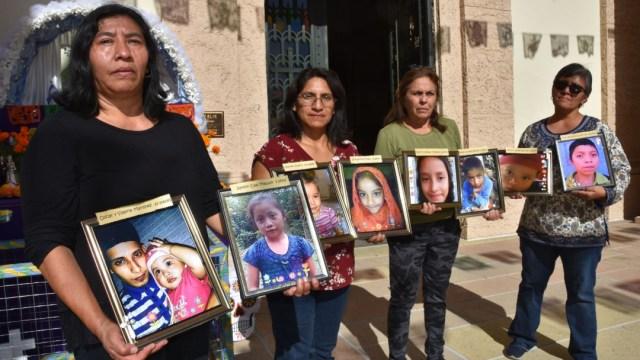 Foto: Altar recuerda en Los Ángeles que las políticas migratorias 'matan niños', 1 de noviembre de 2019, California