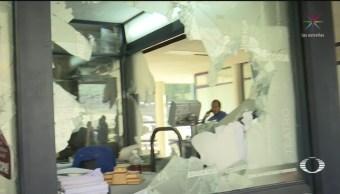 FOTO: Alumnos de la UNAM opinan respecto a actos vandálicos en Rectoría, 15 noviembre 2019