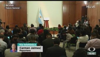 FOTO: AMLO se reúne presidente electo Argentina