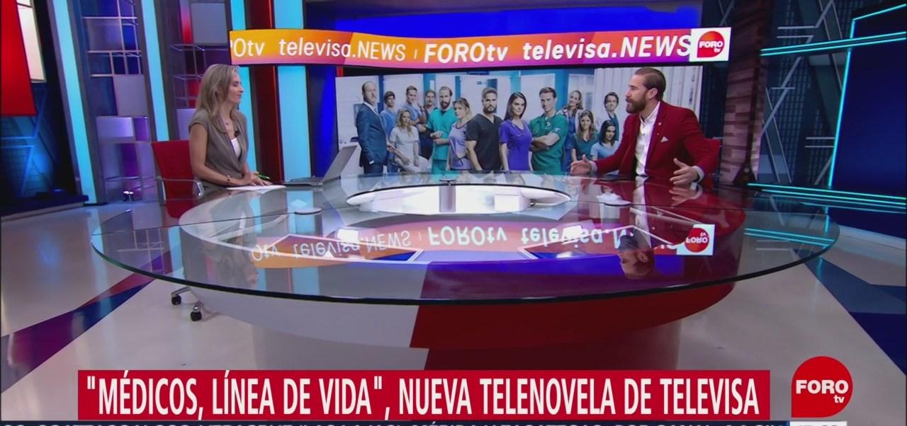 FOTO: Ana Paula Ordorica entrevista Carlos de la Mota