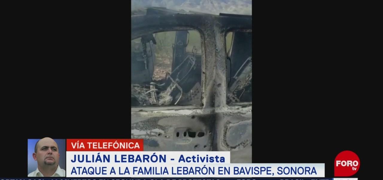 FOTO: Ana Paula Ordorica entrevista Julián LeBarón tras masacre