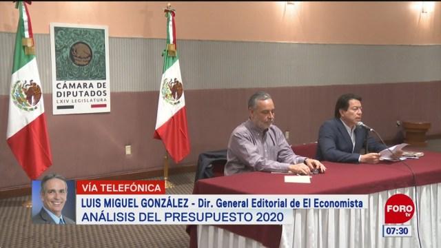 Foto: Análisis Presupuesto 2020 Estrictamente Personal