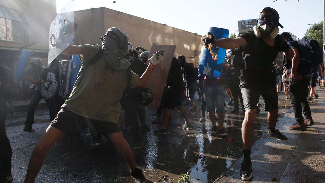 Foto: Más de 15 mil personas detenidas durante protestas en Chile, 23 de noviembre de 2019, (AP)