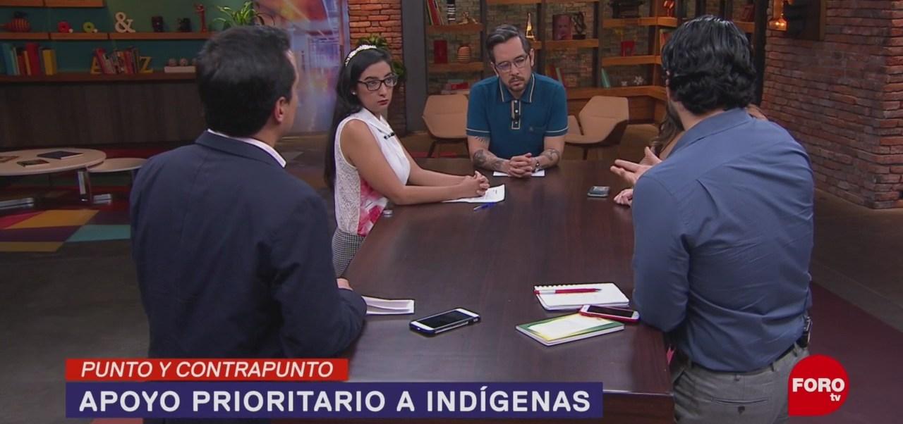 Foto: Apoyo Prioritario Indígenas Compensación Discriminación 19 Noviembre 2019