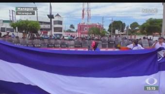 FOTO: Arrecian protestas políticas Nicaragua,