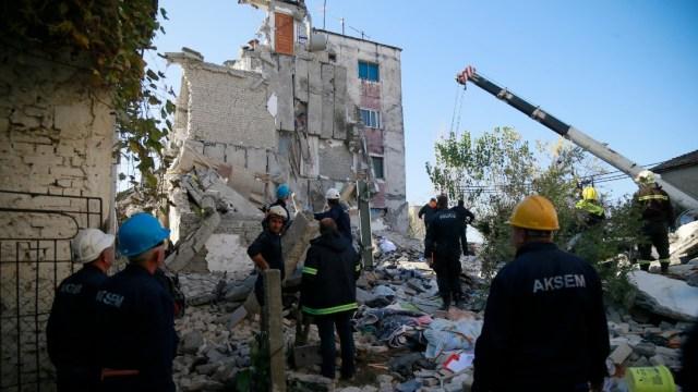 Foto: Asciende a 18 cifra de muertos por sismo en Albania
