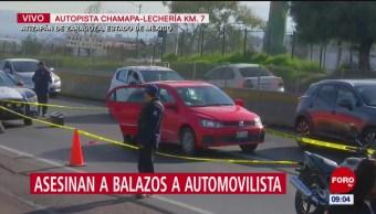 Asesinan a balazos a escolta en la Chamapa-Lechería