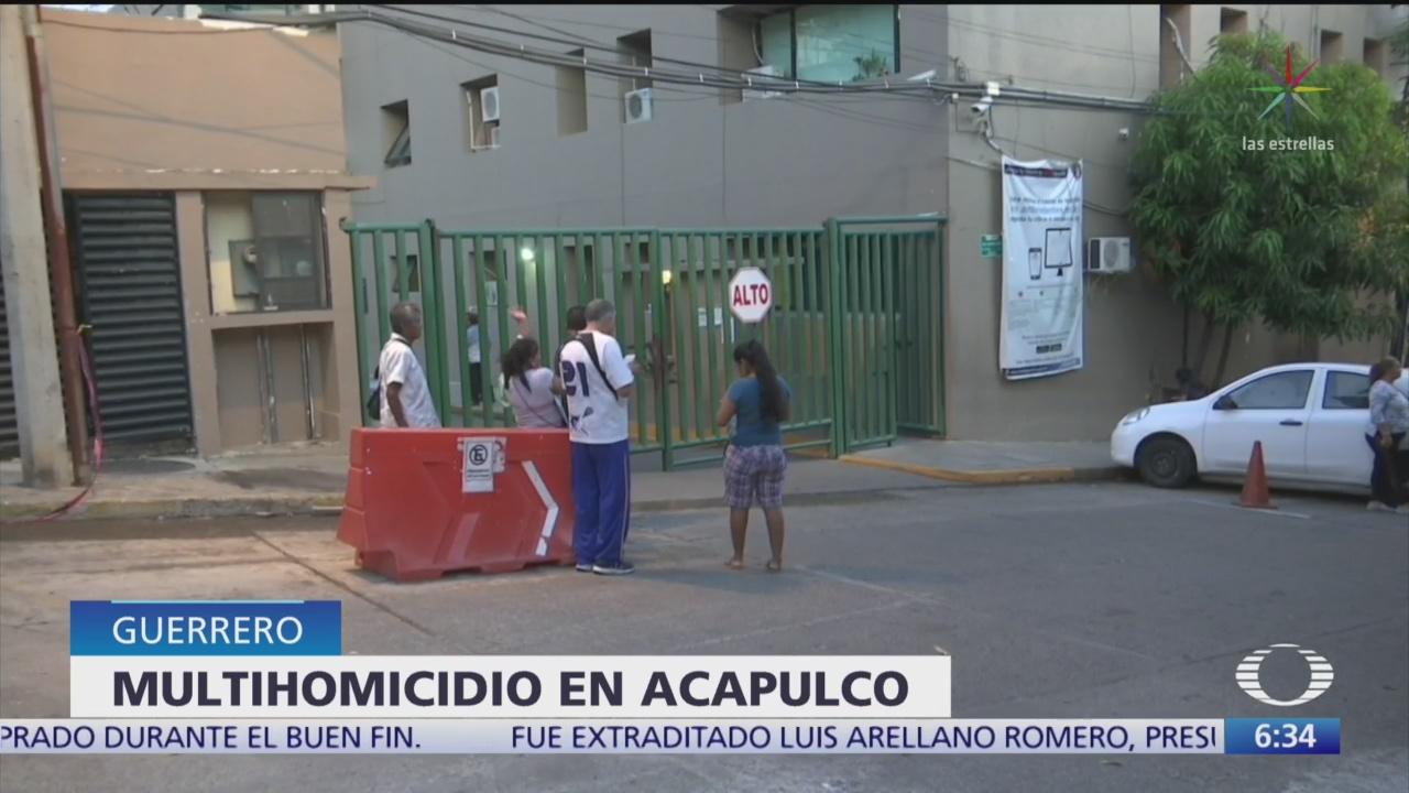 Asesinan a cinco miembros de una familia en Acapulco - Noticieros Televisa