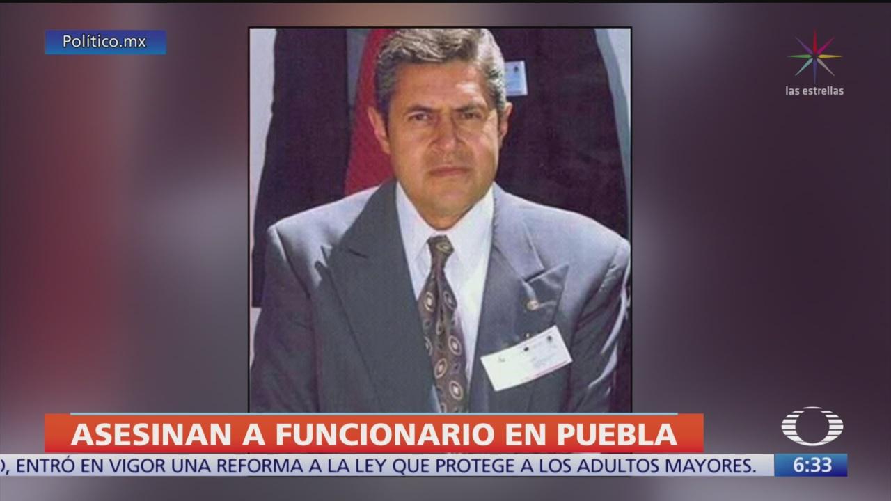 Foto: Asesinan delegado Movilidad Tlachichuca Puebla