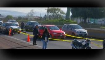 FOTO Asesinan a escolta de tráiler con electrodomésticos en autopista Chamapa-Lechería (FOROtv)