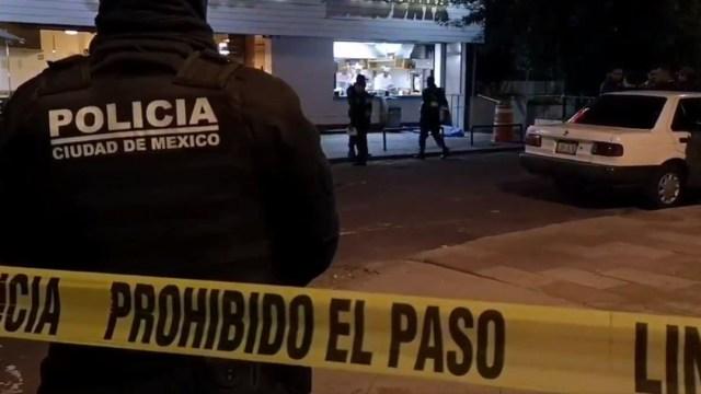 Foto: Un hombre fue asesinado frente a una taquería en la calle Ameyalco, CDMX, 14 noviembre 2019