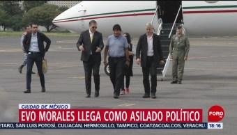 FOTO: Así fue llegada Evo Morales México