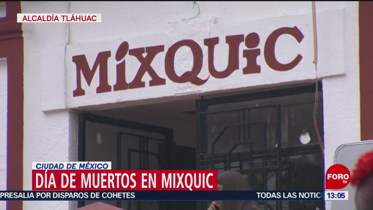 FOTO: Así se vive el Día de Muertos en Mixquic, 2 noviembre 2019