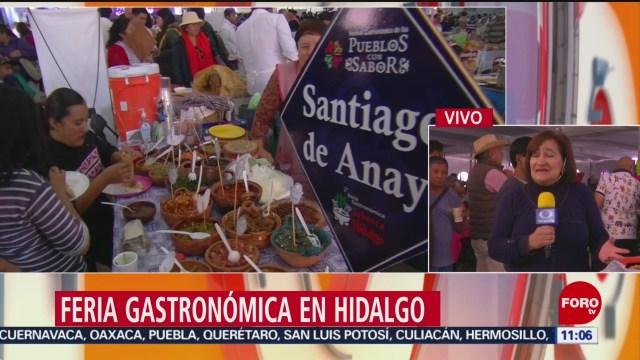 FOTO: Así se vive la Feria Gastronómica en Hidalgo, 16 noviembre 2019