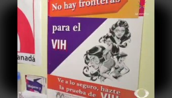 FOTO Aumentan casos de VIH y sífilis entre migrantes, en Chiapas (Noticieros Televisa)