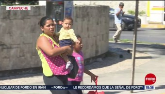 FOTO: Aumentan enfermedades respiratorias por frío en Campeche, 18 noviembre 2019