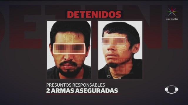 FOTO: Autoridades y presuntos criminales se enfrentan en Pátzcuaro, Michoacán, 18 noviembre 2019