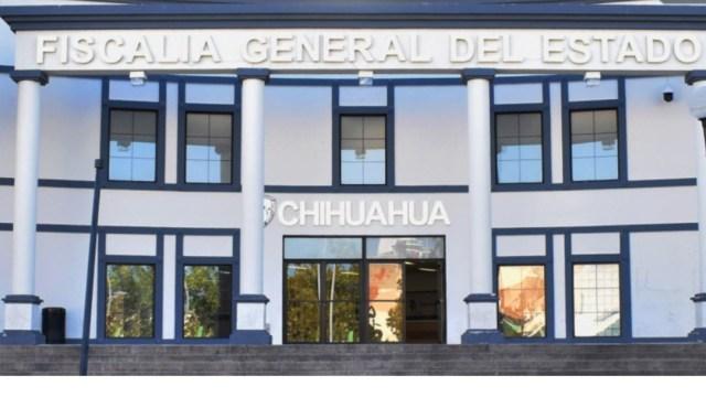 Foto Balean edificio contiguo a Fiscalía de Chihuahua