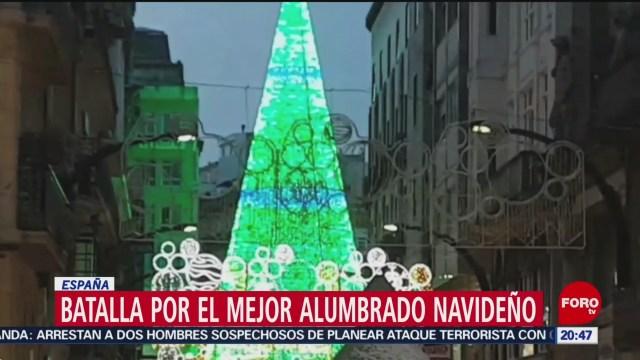 Foto: Batalla Mejor Alumbrado Navideño España 26 Noviembre 2019