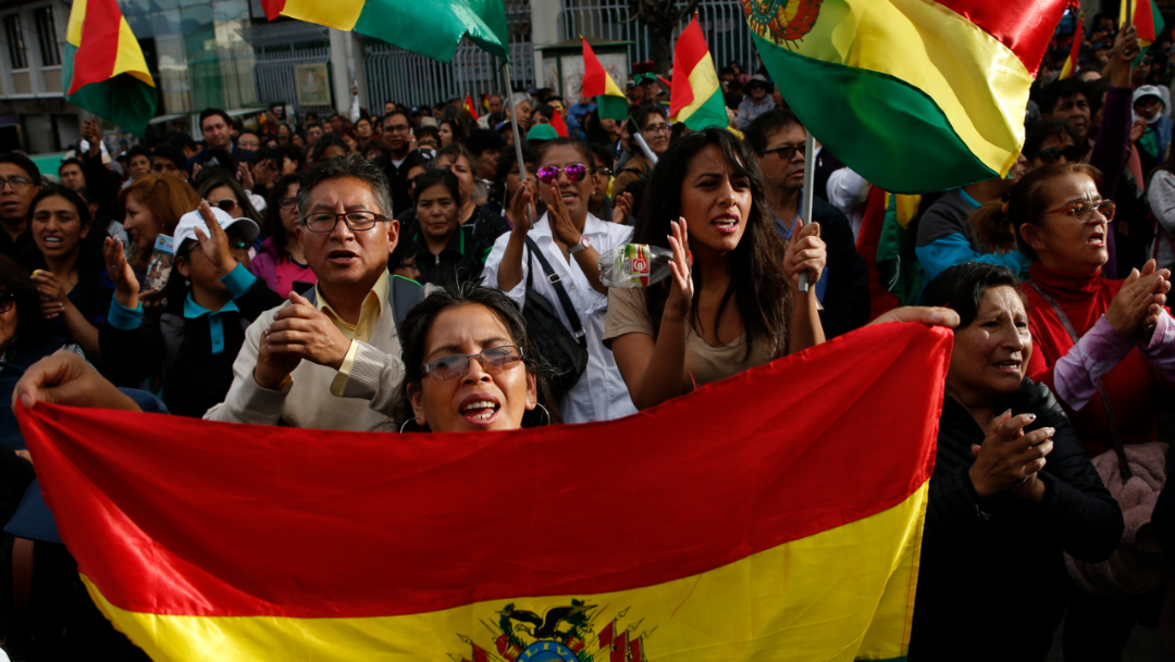 El presidente Evo Morales convocó a sus seguidores a defender su gobierno, 3 noviembre 2019