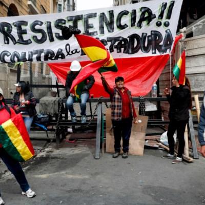 Crecen protestas en Bolivia pese llamado de Evo Morales para nuevas elecciones