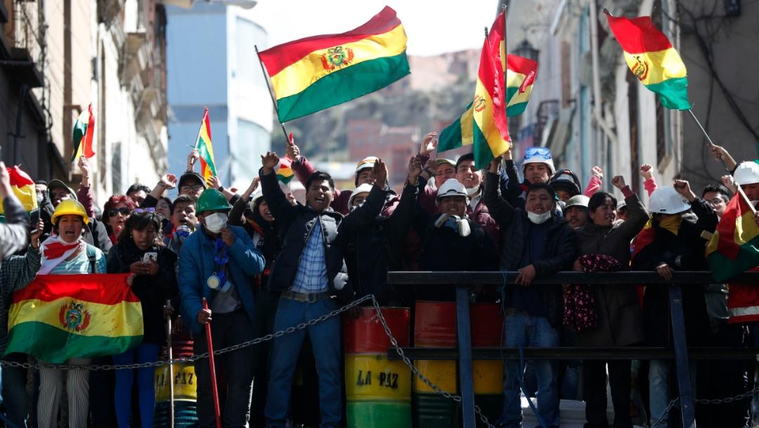 Foto: Manifestantes marcharon contra el gobierno del presidente Evo Morales, 9 noviembre 2019 2019