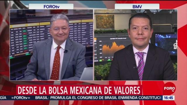 FOTO: bolsa mexicana cierra con perdidas