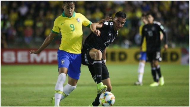 Foto: México no pudo y cayó ante Brasil en la Final del Mundial Sub-17 (EFE)