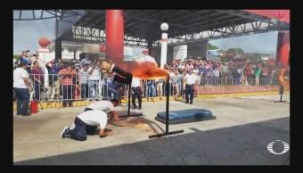 Foto: Lesiones Acompañaron Aniversario Revolución Mexicana Videos 20 Noviembre 2019