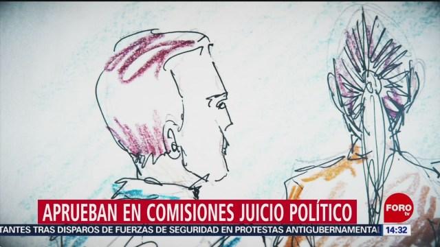 FOTO: Cámara de Diputados aprueba en comisiones llevar a Rosario Robles a juicio político, 28 noviembre 2019
