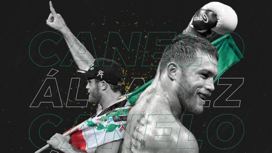 Foto: Saúl Álvarez se convirtió en tetracampeón mundial de la Organización Mundial de Boxeo