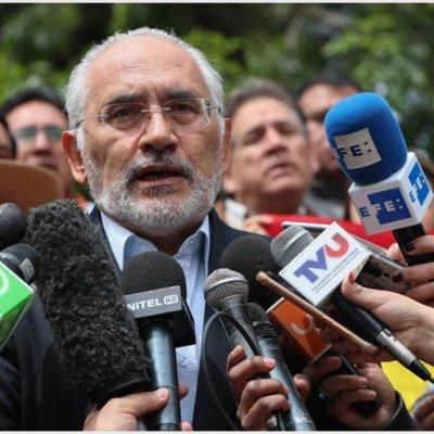 Carlos Mesa aplaude renuncia de Evo Morales y anuncia el